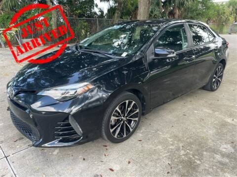 2017 Toyota Corolla for sale at Florida Fine Cars - West Palm Beach in West Palm Beach FL
