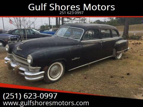 1952 Chrysler Imperial for sale at Gulf Shores Motors in Gulf Shores AL