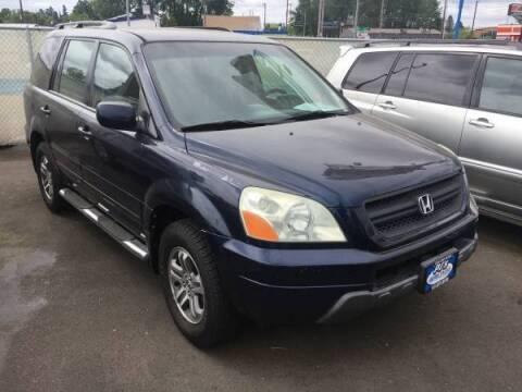 2004 Honda Pilot for sale at PJ's Auto Center in Salem OR