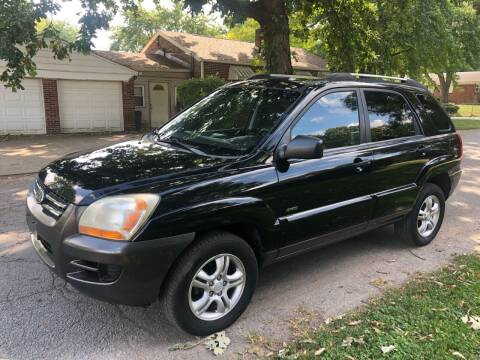 2005 Kia Sportage for sale at JE Auto Sales LLC in Indianapolis IN
