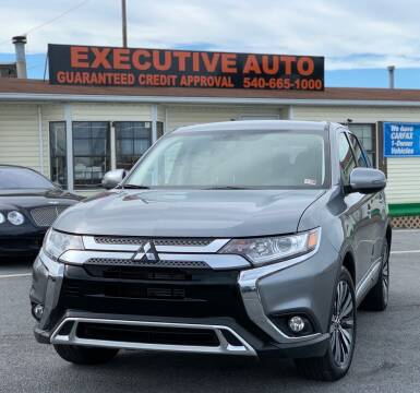 2019 Mitsubishi Outlander for sale at Executive Auto in Winchester VA