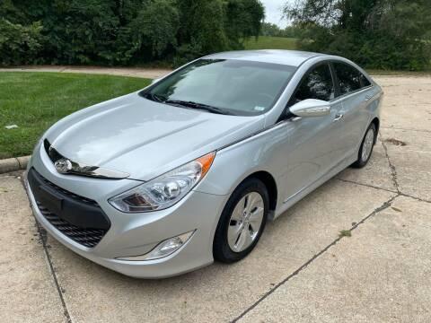 2013 Hyundai Sonata Hybrid for sale at Sansone Cars in Lake Saint Louis MO