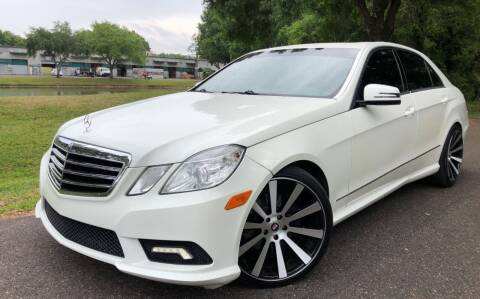 2011 Mercedes-Benz E-Class for sale at Powerhouse Automotive in Tampa FL