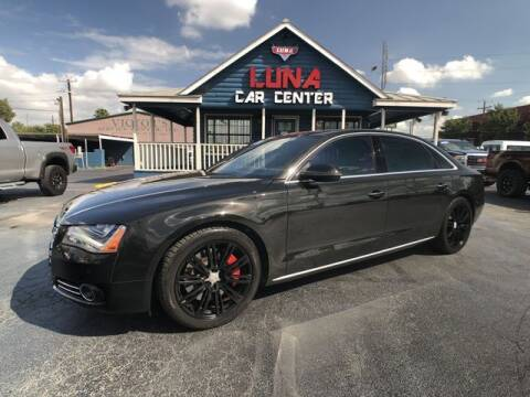 2011 Audi A8 L for sale at LUNA CAR CENTER in San Antonio TX
