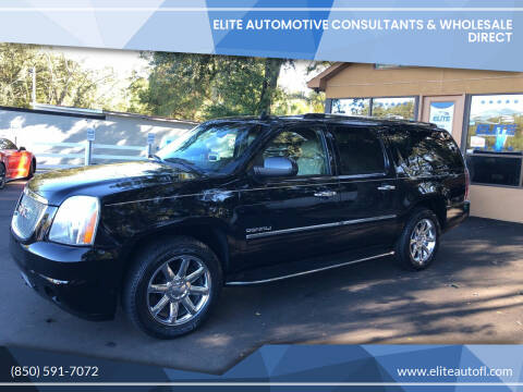 2011 GMC Yukon XL for sale at Elite Automotive Consultants & Wholesale Direct in Tallahassee FL