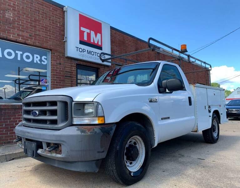2003 Ford F-250 Super Duty for sale at Top Motors LLC in Portsmouth VA
