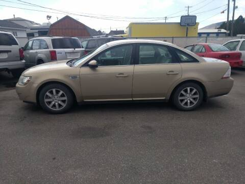 2008 Ford Taurus for sale at Creekside Auto Sales in Pocatello ID