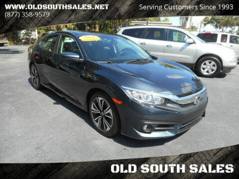 2016 Honda Civic for sale at OLD SOUTH SALES in Vero Beach FL