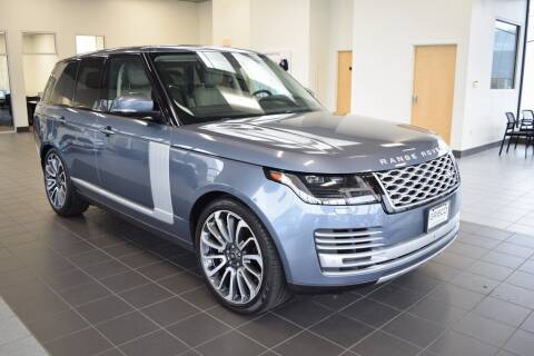 2018 Land Rover Range Rover for sale at BMW OF NEWPORT in Middletown RI