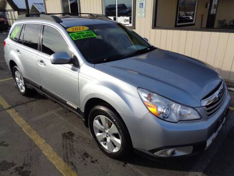 2012 Subaru Outback for sale at BBL Auto Sales in Yakima WA