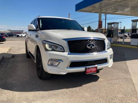 2015 Infiniti QX80 for sale at Rocky Mountain Commercial Trucks in Casper WY