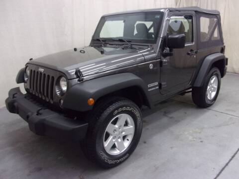 2017 Jeep Wrangler for sale at Paquet Auto Sales in Madison OH