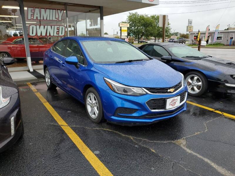 2017 Chevrolet Cruze for sale at Stach Auto in Janesville WI