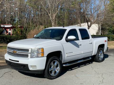 2012 Chevrolet Silverado 1500 for sale at Triangle Motors Inc in Raleigh NC
