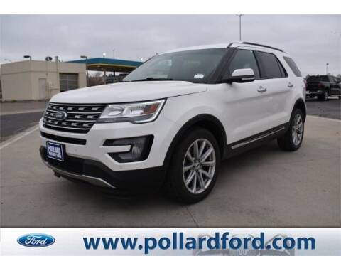 2017 Ford Explorer for sale at South Plains Autoplex by RANDY BUCHANAN in Lubbock TX