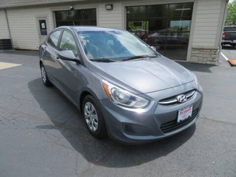 2017 Hyundai Accent for sale at Tri-County Pre-Owned Superstore in Reynoldsburg OH