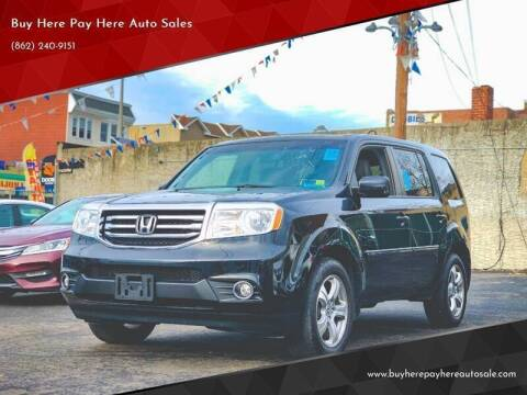 2013 Honda Pilot for sale at Buy Here Pay Here Auto Sales in Newark NJ