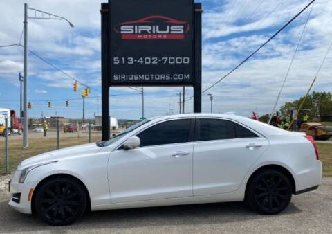 2015 Cadillac ATS for sale at SIRIUS MOTORS INC in Monroe OH