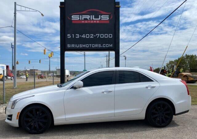 2015 Cadillac ATS for sale at SIRIUS MOTORS INC in Monroe OH