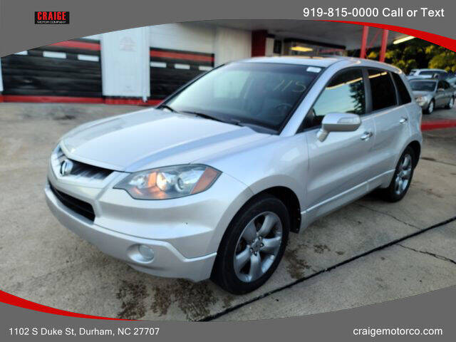 2007 Acura RDX for sale at CRAIGE MOTOR CO in Durham NC