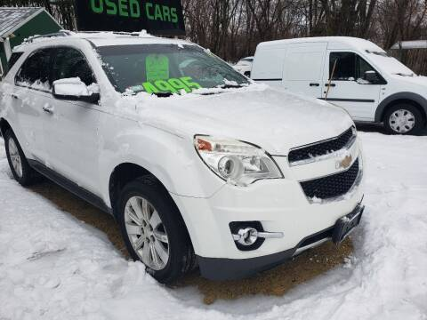 2010 Chevrolet Equinox for sale at Northwoods Auto & Truck Sales in Machesney Park IL