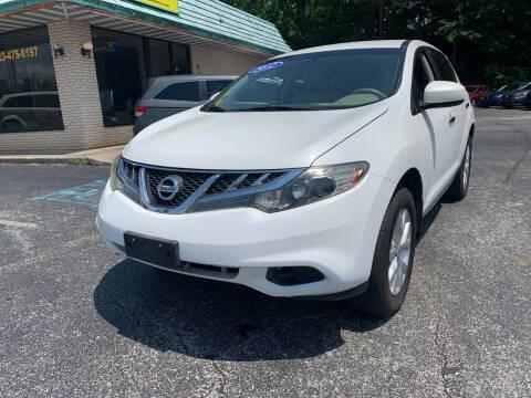 2012 Nissan Murano for sale at Diana Rico LLC in Dalton GA