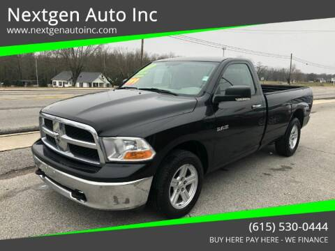 2009 Dodge Ram Pickup 1500 for sale at Nextgen Auto Inc in Smithville TN