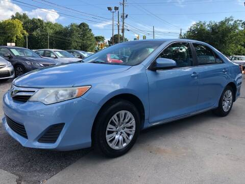 2012 Toyota Camry for sale at Capital Motors in Raleigh NC