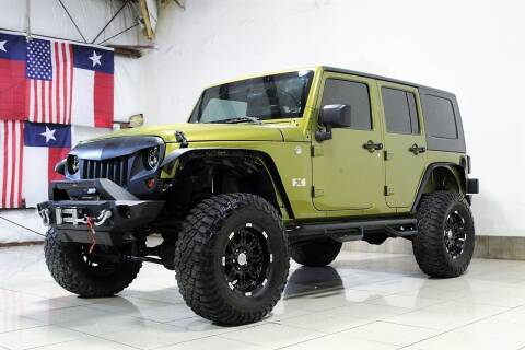 2008 Jeep Wrangler Unlimited for sale at ROADSTERS AUTO in Houston TX