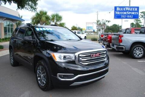 2019 GMC Acadia for sale at BlueWater MotorSports in Wilmington NC