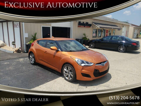 2016 Hyundai Veloster for sale at Exclusive Automotive in West Chester OH