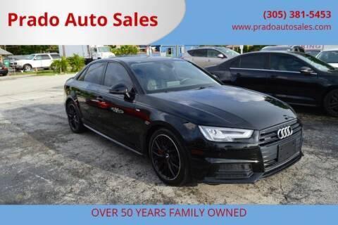 2018 Audi A4 for sale at Prado Auto Sales in Miami FL