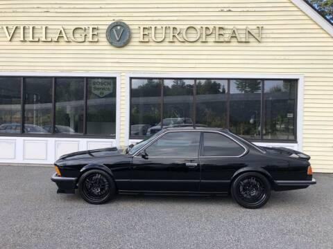1985 BMW M635CSI for sale at Village European in Concord MA