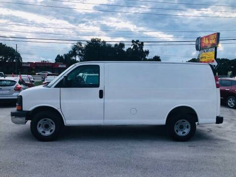 2014 Chevrolet Express Cargo for sale at ONYX AUTOMOTIVE, LLC in Largo FL