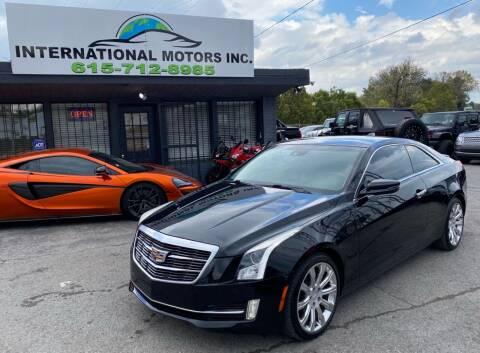 2016 Cadillac ATS for sale at International Motors Inc. in Nashville TN