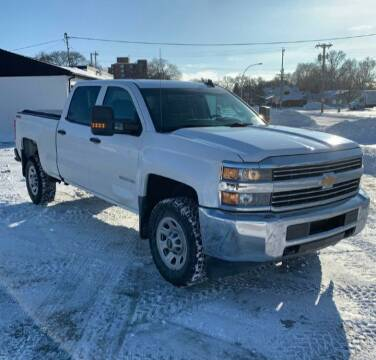 2016 Chevrolet Silverado 2500HD for sale at GOOD NEWS AUTO SALES in Fargo ND