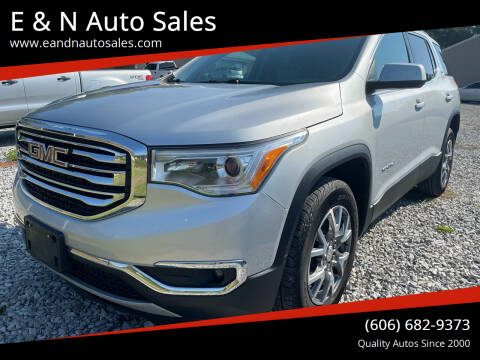 2019 GMC Acadia for sale at E & N Auto Sales in London KY