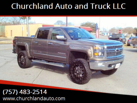 2014 Chevrolet Silverado 1500 for sale at Churchland Auto and Truck LLC in Portsmouth VA