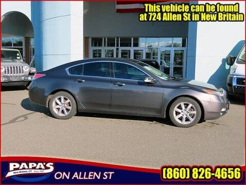 2013 Acura TL for sale at Papas Chrysler Dodge Jeep Ram in New Britain CT