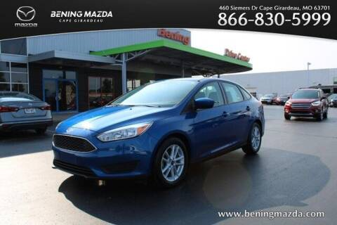 2018 Ford Focus for sale at Bening Mazda in Cape Girardeau MO