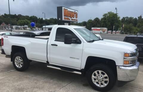 2016 Chevrolet Silverado 2500HD for sale at Moye's Auto Sales Inc. in Leesburg FL