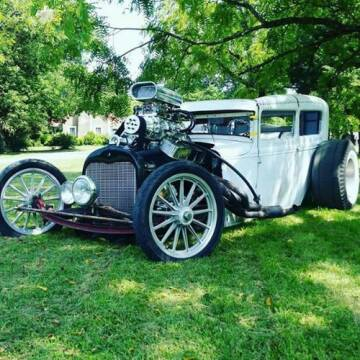 1931 Ford Tudor for sale at Haggle Me Classics in Hobart IN