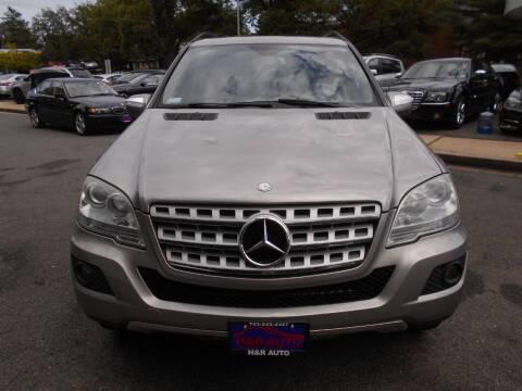 2009 Mercedes-Benz M-Class for sale at H & R Auto in Arlington VA