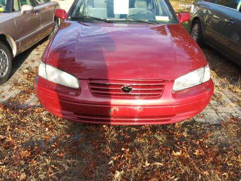 1998 Toyota Camry for sale at Maple Street Auto Sales in Bellingham MA