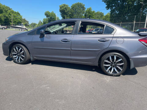2015 Honda Civic for sale at Beckham's Used Cars in Milledgeville GA