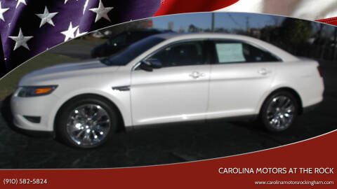 2011 Ford Taurus for sale at Carolina Motors at the Rock in Rockingham NC