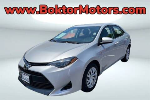 2018 Toyota Corolla for sale at Boktor Motors in North Hollywood CA