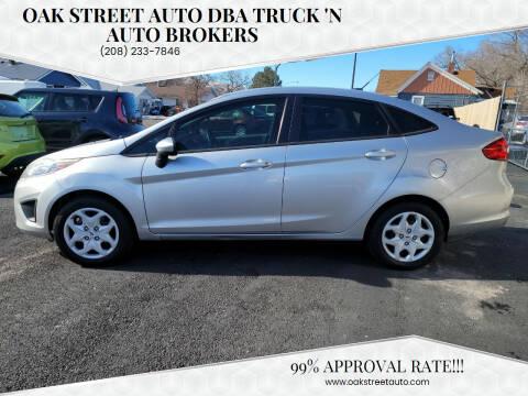 2012 Ford Fiesta for sale at Oak Street Auto DBA Truck 'N Auto Brokers in Pocatello ID