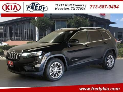 2019 Jeep Cherokee for sale at FREDY KIA USED CARS in Houston TX