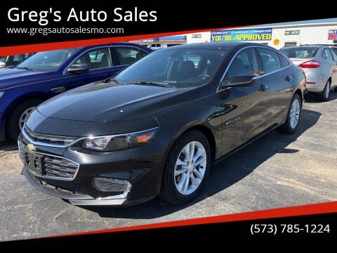 2018 Chevrolet Malibu for sale at Greg's Auto Sales in Poplar Bluff MO